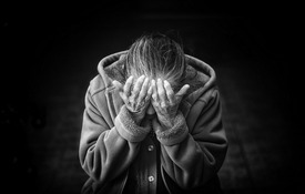 Old Women Depressed - xs
