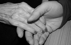 Old & Young Hands - xs